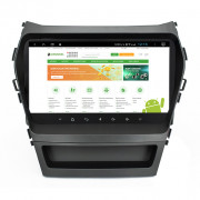 Штатна магнітола RedPower 51210 RK IPS DSP для Hyundai Santa Fe 3 (Comfort, Dinamic, High-Tech, Sport, Santa Fe Grand) Android 8