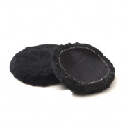 Абразивный полировальный круг из натуральной овчины Scholl Concepts Wool Pads Black ST0050 (50-65мм)