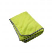 Микрофибровое полотенце для деликатной просушки автомобиля после мойки DeWitte Luxus Microfibre Green (60х90см)