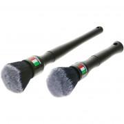 Набор мягких щеток для деликатной очистки чувствительных поверхностей автомобиля Monello Soft Detail Brushes MDF0102 (2шт)