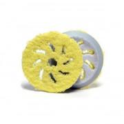 Среднеабразивный полировальный круг из микрофибры Rupes Microfiber Polishing Pad Yellow 9.BF100XM / 9.BF150XM / 9.BF170XM