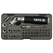 Набор инструмента 1/4'' (в ложементе) Yato YT-2806 (42шт)