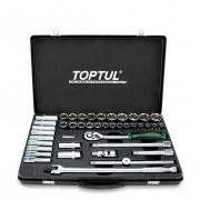 Набор инструмента комбинированный 1/2'' Toptul GCAD4102 (41шт)