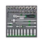 Набор инструмента 1/2'' (в ложементе) Toptul GEC3901 (39шт)