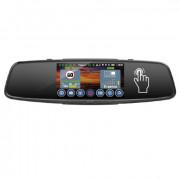 Зеркало заднего вида Playme Vega Touch с монитором, видеорегистратором, радар-детектором, GPS и дополнительной камерой