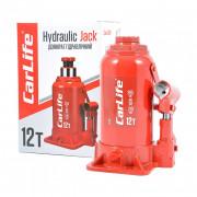 Гідравлічний пляшковий домкрат CarLife BJ412 (12 т)