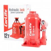 Гідравлічний пляшковий домкрат (низький) CarLife BJ412S (12 т)