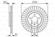Тормозной диск BOSCH 0 986 479 R68