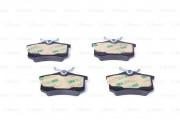 Колодка тормозная дисковая AUDI A4, A6, VW GOLF IV задняя Bosch 0 986 466 683