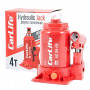 Гидравлический бутылочный домкрат (двухштоковый) CarLife BJ404D (4 т)