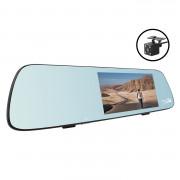 Зеркало заднего вида с монитором, видеорегистратором, Wi-Fi, GPS, системой ADAS и камерой заднего вида Aspiring MAXI 1