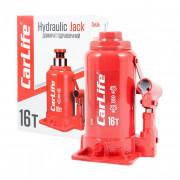 Гідравлічний пляшковий домкрат CarLife BJ416 (16 т)