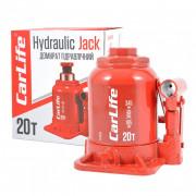 Гідравлічний пляшковий домкрат (низький) CarLife BJ420S (20 т)