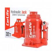 Гідравлічний пляшковий домкрат (низький) CarLife BJ432S (32 т)