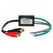 2-канальный преобразователь уровня сигнала AWM HL-030