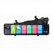 Зеркало заднего вида Phisung Z70 с видеорегистратором, монитором, дополнительной камерой, системой ADAS, Wi-Fi, 4G / 3G, Bluetooth, GPS (Android 8.1)