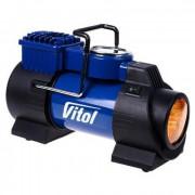 Компрессор Vitol K-60 (фонарь, манометр)