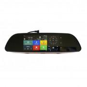 Зеркало заднего вида Phisung H2 с видеорегистратором, монитором, дополнительной камерой, Wi-Fi, 3G, Bluetooth, GPS (Android 5.0)