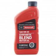 Оригинальное моторное масло Ford Motorcraft Synthetic Blend Motor Oil 0W-20 (XO0W20Q1SP)
