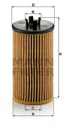 Масляный фильтр MANN HU612/2X