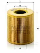 Масляный фильтр MANN HU711/51X
