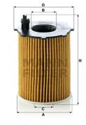 Масляный фильтр MANN HU716/2X
