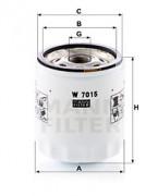 Оливний фільтр MANN W7015