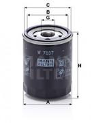 Масляный фильтр MANN W7037
