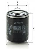 Оливний фільтр MANN W712/73