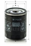 Масляный фильтр MANN W713/28