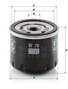 Оливний фільтр MANN W79
