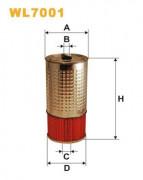 Масляный фильтр WIX WL7001