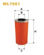 Масляный фильтр WIX WL7061