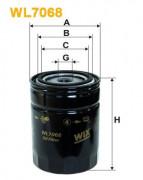 Масляный фильтр WIX WL7068