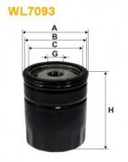Масляный фильтр WIX WL7093