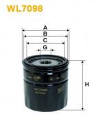 Масляный фильтр WIX WL7098