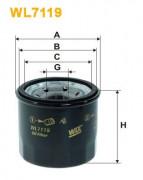 Масляный фильтр WIX WL7119