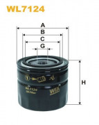 Масляный фильтр WIX WL7124