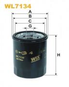 Масляный фильтр WIX WL7134