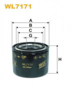 Масляный фильтр WIX WL7171