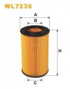 Масляный фильтр WIX WL7236