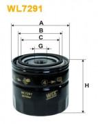 Масляный фильтр WIX WL7291