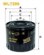 Масляный фильтр WIX WL7298
