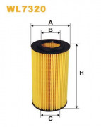 Масляный фильтр WIX WL7320