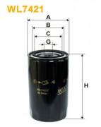 Масляный фильтр WIX WL7421