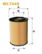 Масляный фильтр WIX WL7446