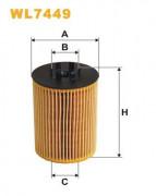 Масляный фильтр WIX WL7449