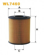 Масляный фильтр WIX WL7460