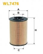 Масляный фильтр WIX WL7476