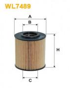 Масляный фильтр WIX WL7489